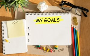 set goals and be accountable