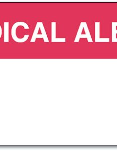 Medical alert label also allergy labels protect dental patients smartpractice rh