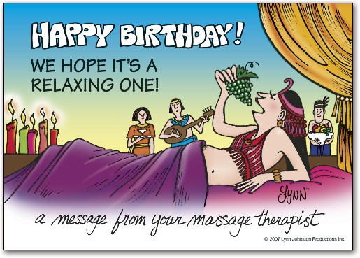 Bring Clients Back With Massage Therapy Birthday Cards