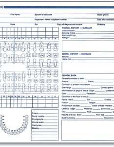 Dental chart forms also yolarnetonic rh