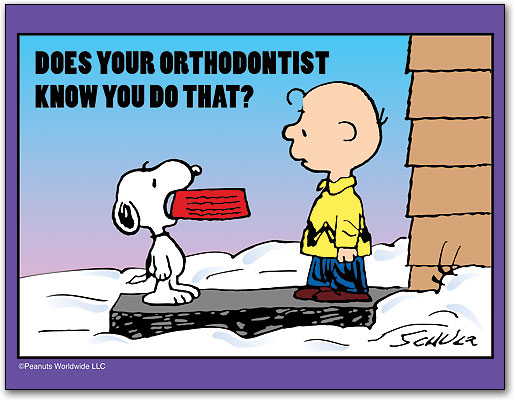Image result for Snoopy and the dentist