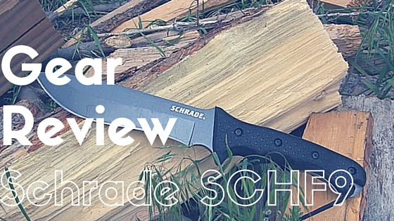 Schrade SCHF9 Extreme Survival Knife Review