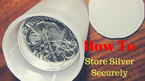 how to store silver
