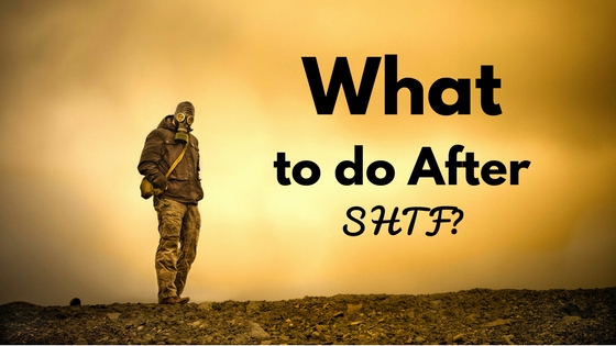 what to do after shtf