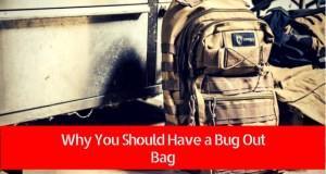 why you should have a bug out bag