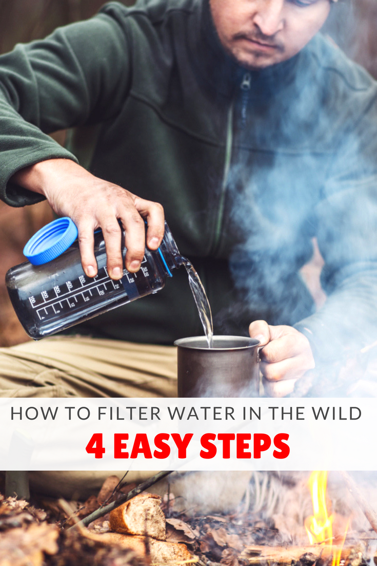 how to filter water in the wild
