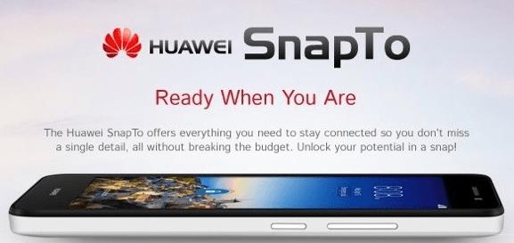 huawei snapto launch