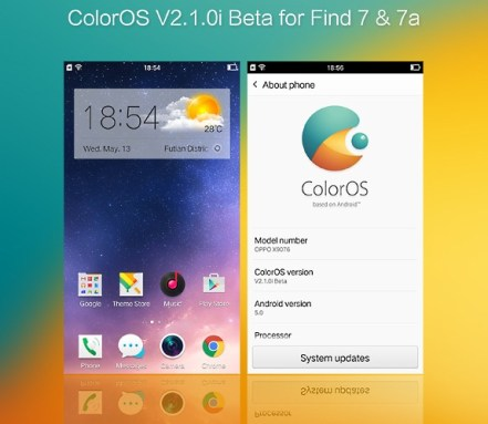 Oppo Confirms Android Lollipop Based Color OS 2 1
