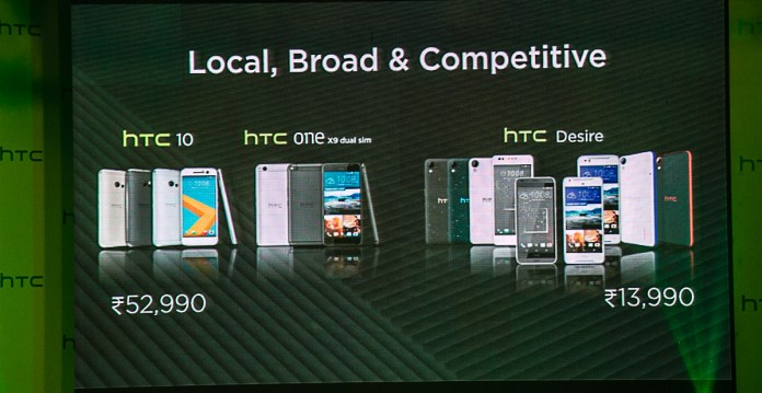 HTC refreshes its portfolio in India