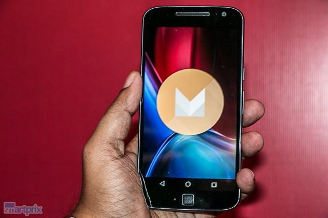 Lenovo Moto G4 Plus fingerprint sensor