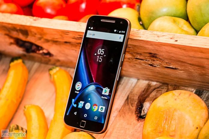 Lenovo Moto G4 Plus sharp display