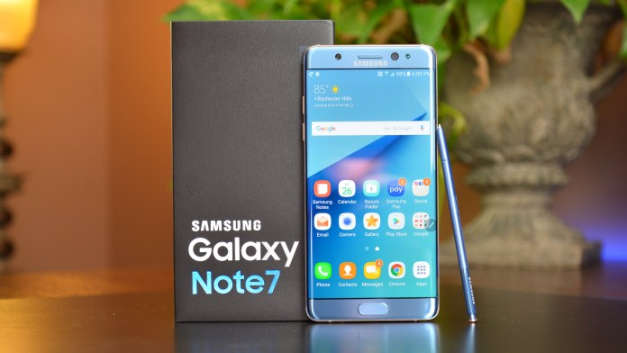 The ill-fated Galaxy Note 7
