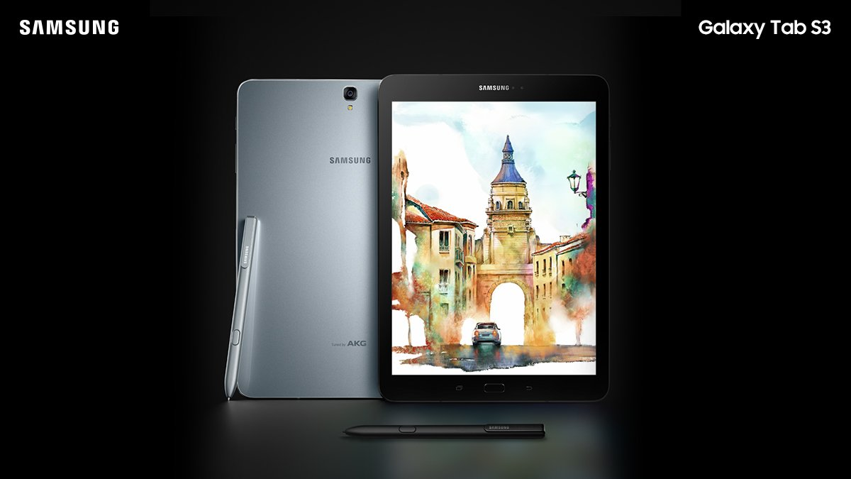 Samsung Galaxy Tab S3 With 9 7-inch QHD display and New S Pen