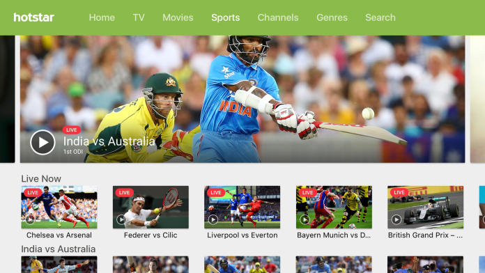 Hotstar Cricketing App