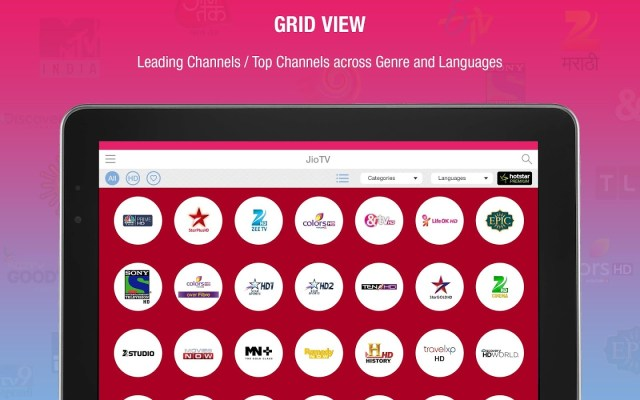 Reliance Jio TV App