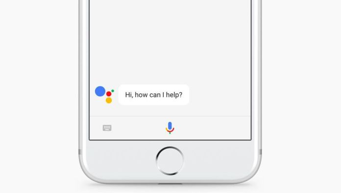 iphone GOOGLE ASSISTANT