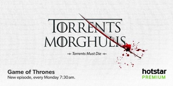 Torrents Morghulis