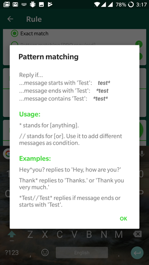 How to enable automated reply to WhatsApp Messages without root