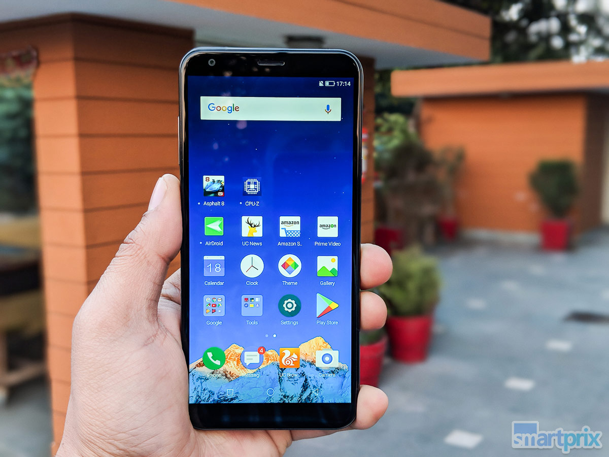 6ce56f19d Infocus Vision 3 Review  Cheapest Phone With Full View Screen and Dual  Cameras