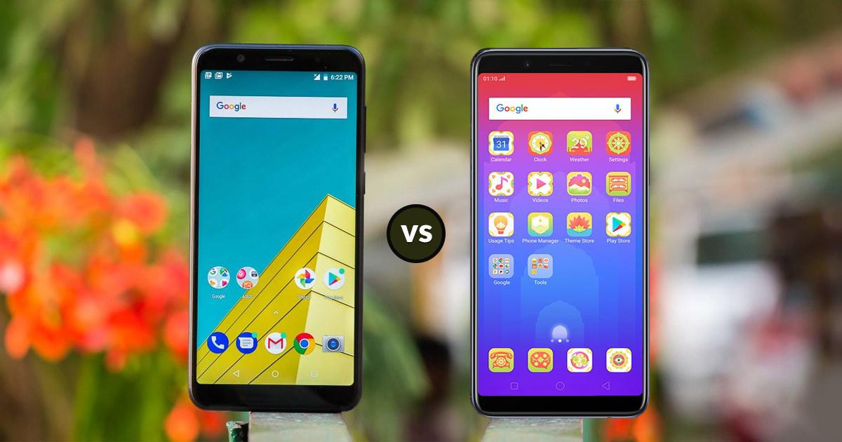 Oppo Realme 1 vs Asus Zenfone Max Pro M1 Specs Comparison: The
