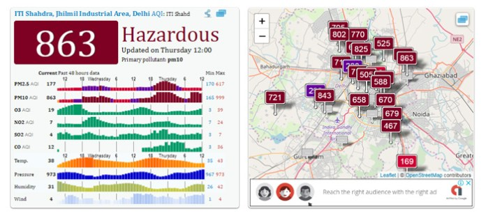 4 Ways and Apps To Check Air Quality Of Your City On Your Phone