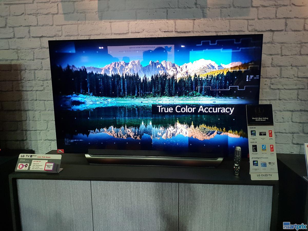 Lg Thinq Ai Oled Tv 2018 Range And Alpha A9 Processor