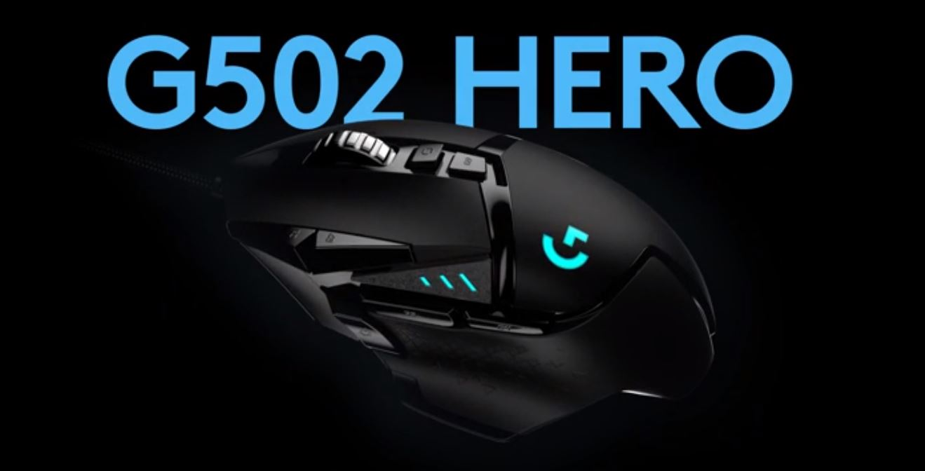 Logitech G502 HERO Gaming mouse with 16K sensor launched in