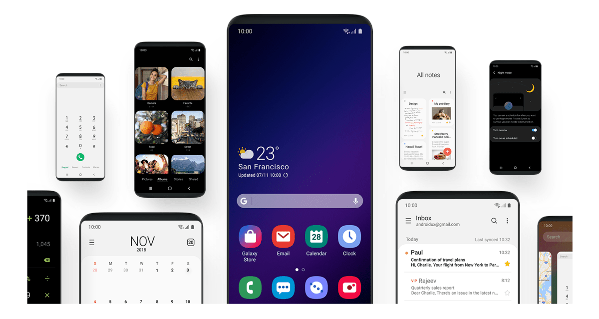 Here's The List Of Samsung Phones Getting Android 9 Pie Based One UI
