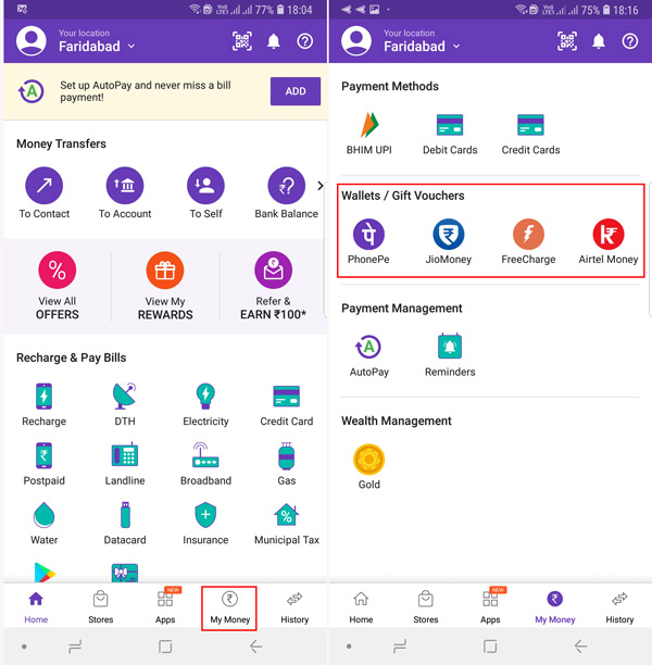 How To Add Money To PhonePe Wallet Using Credit Card