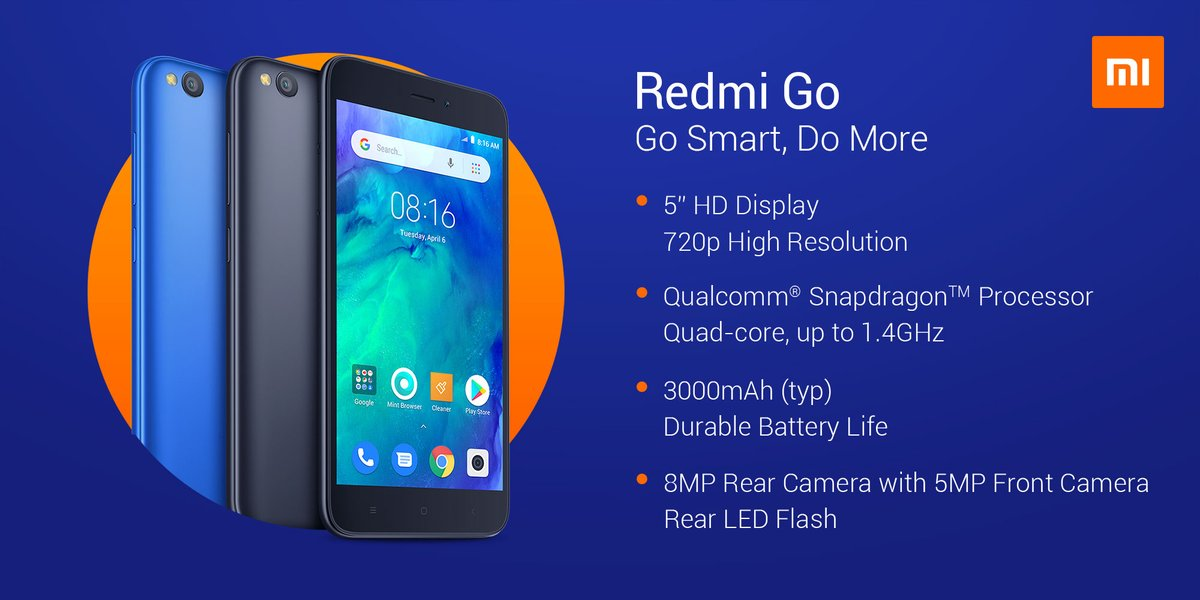 Redmi Go (Courtesy: Xiaomi)