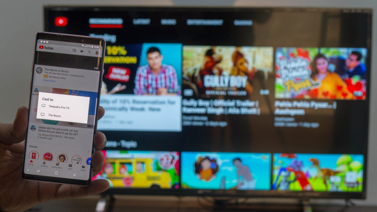How To Cast Youtube Videos To Fire Tv Stick Directly From Your Phone Smartprix Bytes