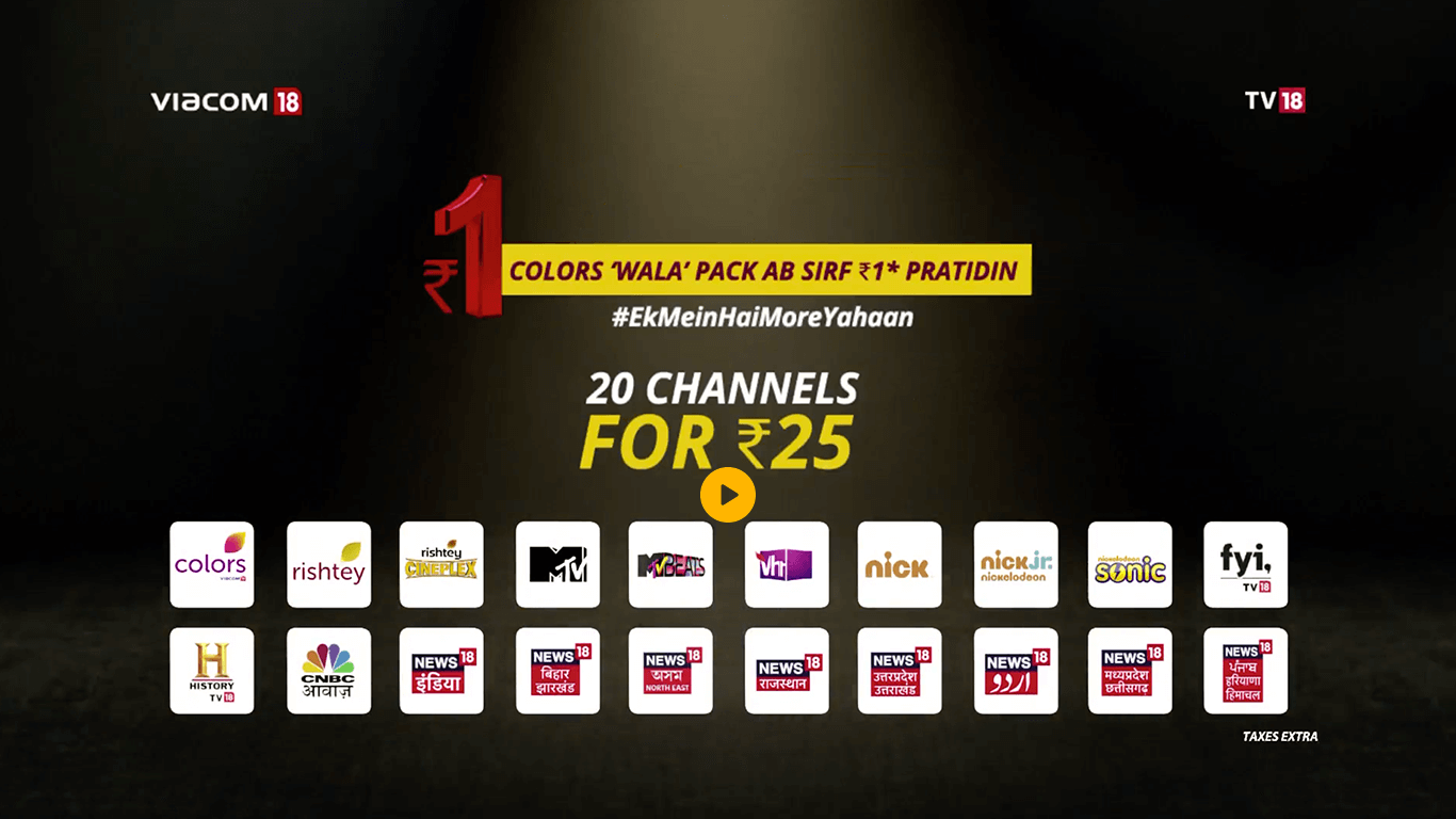 hathway cable tv charges