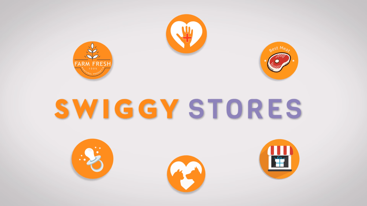 Swiggy enters grocery delivery service.