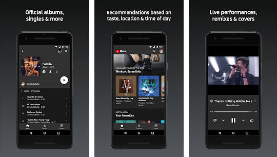 YouTube Music and YouTube Premium services are available in