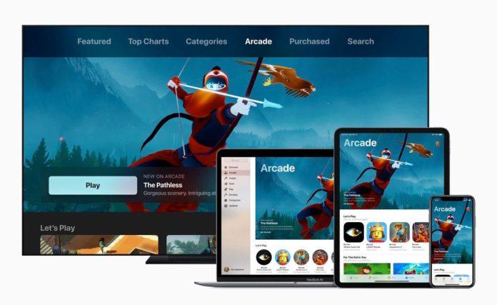 Apple Arcade Gaming service