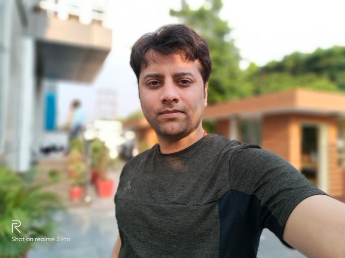 Realme 3 Pro camera review - selfie camera