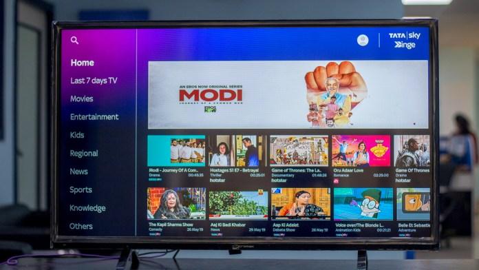 Amazon Tv Fire Stick Tata Sky BInge