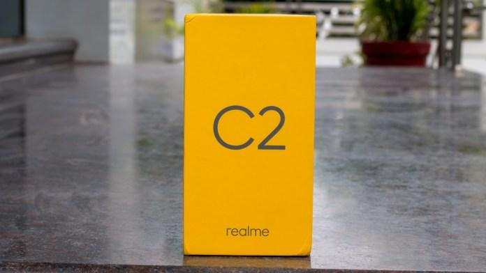 Realme C2 box