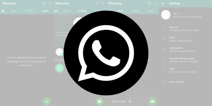 Steps to activate whatsapp dark mode