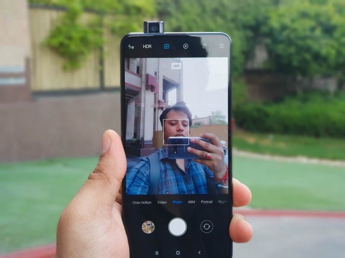 Redmi K20 Pro pop-up camera