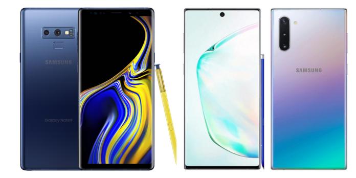 Samsung Galaxy Note 10+ vs Note 9
