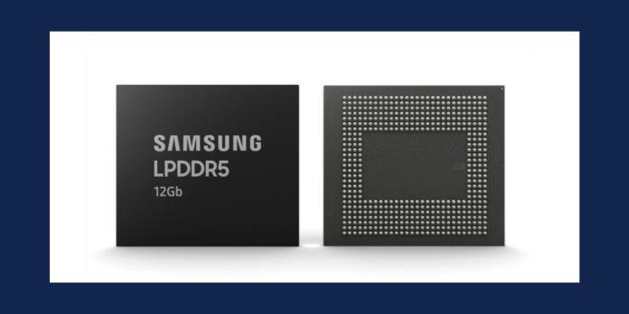 Samsung 12Gb LPDDR5 RAM