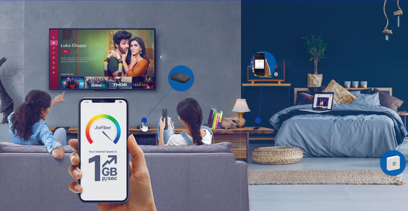Image result for jio dth welcome offer of free TV withthe plan