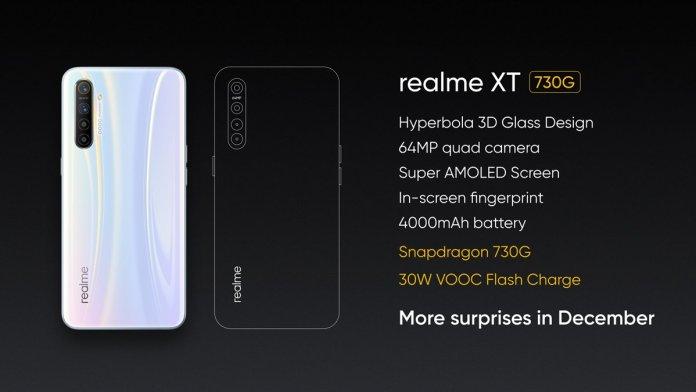 Realme XT 730G announced