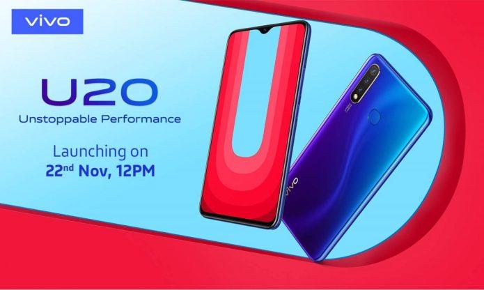 Vivo U20 with Snapdragon 675 teased