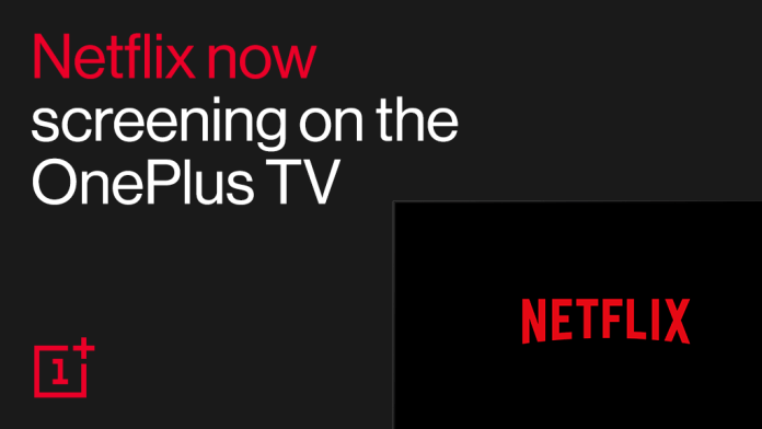 Netflix on OnePlus TV