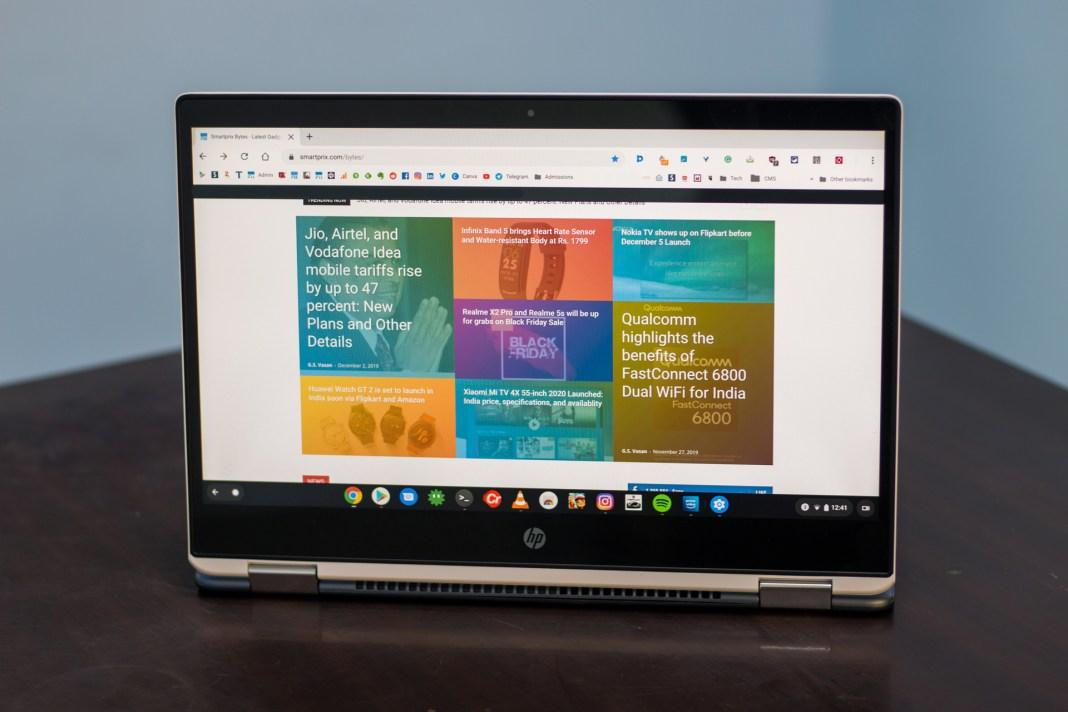Lazımi və mənfi cəhətləri olan HP Chromebook x360 baxış (14-da0003tu)