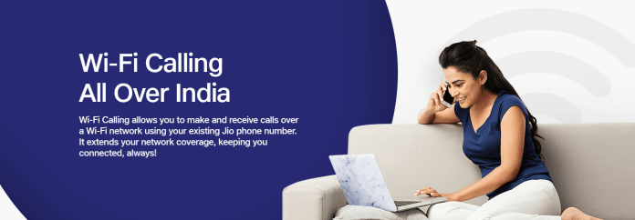 Jio VoWiFi launched