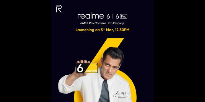 realme 6 series teaser