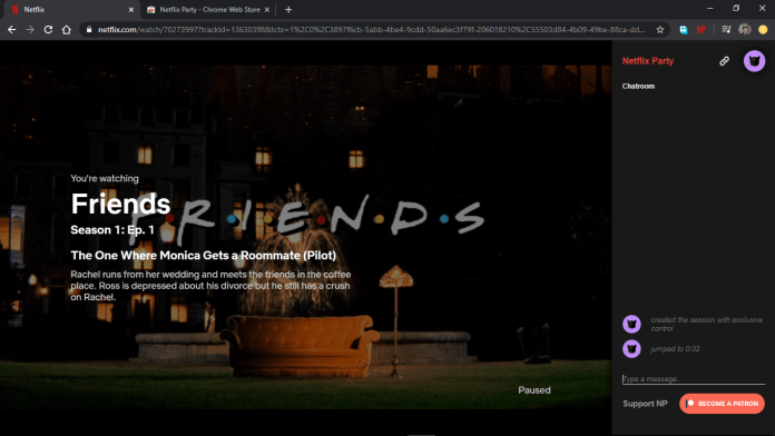 How to setup Netflix Party and watch Netflix with friends